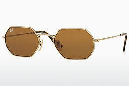 Lunettes de soleil Ray-Ban Octagonal (RB3556N 001/33) - Or