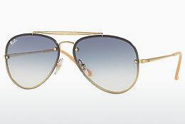 Lunettes de soleil Ray-Ban BLAZE AVIATOR (RB3584N 001/19) - Or