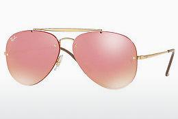 Lunettes de soleil Ray-Ban BLAZE AVIATOR (RB3584N 9052E4) - Or