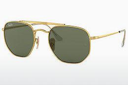 Lunettes de soleil Ray-Ban THE MARSHAL (RB3648 001) - Or