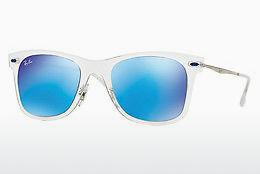 Sonnenbrille Ray-Ban RB4210 646/55 - Weiß, Transparent