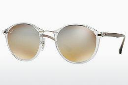 Lunettes de soleil Ray-Ban Round Ii Light Ray (RB4242 6290B8) - Transparentes