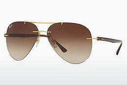 Sonnenbrille Ray-Ban RB8058 157/13 - Gold