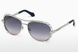 Sonnenbrille Roberto Cavalli RC975S 16B - Silber, Shiny, Grey
