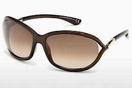 Occhiali da vista Tom Ford Jennifer (FT0008 692) - Marrone, Dark, Shiny