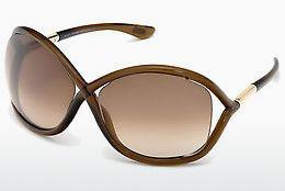 Occhiali da vista Tom Ford Whitney (FT0009 692) - Marrone, Dark, Shiny