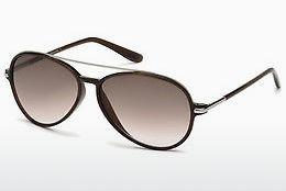 Occhiali da vista Tom Ford Ramone (FT0149 48F) - Marrone, Dark, Shiny