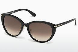 Occhiali da vista Tom Ford Gina (FT0345 01B) - Nero, Shiny