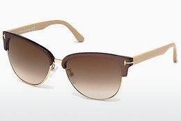 Occhiali da vista Tom Ford Fany (FT0368 50G) - Marrone, Dark