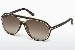 Occhiali da vista Tom Ford Sergio (FT0379 50K) - Marrone, Dark
