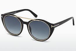 Tom Ford Damen Sonnenbrille »Joan FT0383«, braun, 56B - havana/grau