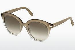 Occhiali da vista Tom Ford Monica (FT0429 59B) - Corno, Beige, Brown