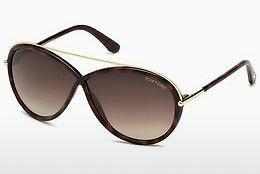 Occhiali da vista Tom Ford Tamara (FT0454 52K) - Marrone, Dark, Havana