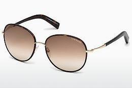 Occhiali da vista Tom Ford Georgia (FT0498 52F) - Marrone, Dark, Havana