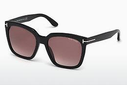 Occhiali da vista Tom Ford Amarra (FT0502 01T) - Nero, Shiny