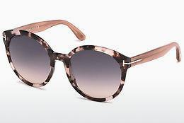 Sonnenbrille Tom Ford Philippa (FT0503 56B) - Havanna