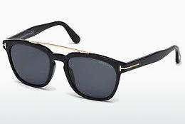 Occhiali da vista Tom Ford Holt (FT0516 01A) - Nero, Shiny