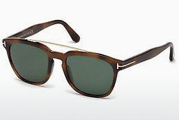 Sonnenbrille Tom Ford Holt (FT0516 53N) - Havanna, Yellow, Blond, Brown