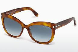 Lunettes de soleil Tom Ford Alistair (FT0524 53W) - Havanna, Yellow, Blond, Brown