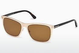 Tom Ford Herren Sonnenbrille »Benedict FT0520«, braun, 52N - braun/grün