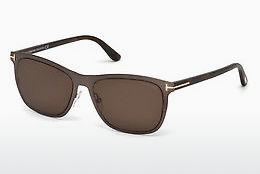 Occhiali da vista Tom Ford Alasdhair (FT0526 48J) - Marrone, Dark, Shiny