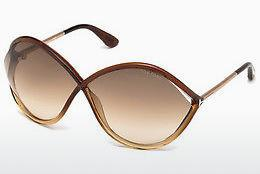 Occhiali da vista Tom Ford Liora (FT0528 50F) - Marrone, Dark