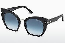 Occhiali da vista Tom Ford Samantha (FT0553 01W) - Nero, Shiny
