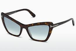 Occhiali da vista Tom Ford Valesca (FT0555 52X) - Marrone, Dark, Havana