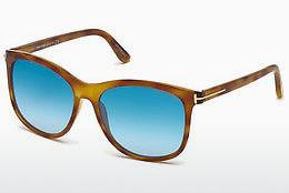 Occhiali da vista Tom Ford FT0567 53X - Avana, Yellow, Blond, Brown