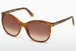 Occhiali da vista Tom Ford FT0568 53G - Avana, Yellow, Blond, Brown