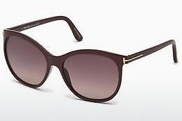 Occhiali da vista Tom Ford FT0568 69T - Borgogna, Bordeaux, Shiny