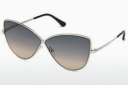 Occhiali da vista Tom Ford FT0569 16B - Argentato, Shiny, Grey