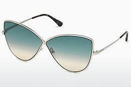 Occhiali da vista Tom Ford FT0569 16W - Argentato, Shiny, Grey