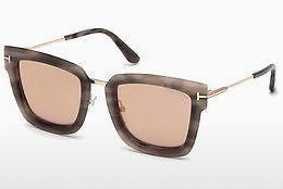 Lunettes de soleil Tom Ford FT0573 55Z - Multicolores, Brunes, Havanna