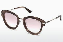 Lunettes de soleil Tom Ford FT0574 55Z - Multicolores, Brunes, Havanna