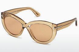 Tom Ford Sonnenbrille » FT0598«, braun, 52D - braun/grau