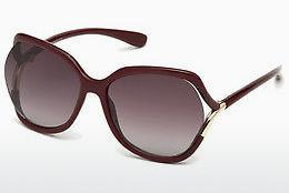 Occhiali da vista Tom Ford FT0578 69T - Borgogna, Bordeaux, Shiny