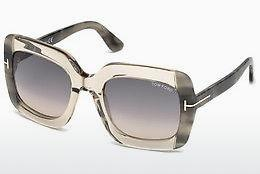 Occhiali da vista Tom Ford FT0580 59B - Corno, Beige, Brown