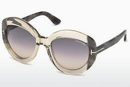 Occhiali da vista Tom Ford FT0581 59B - Corno, Beige, Brown