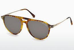 Lunettes de soleil Tom Ford FT0587 55N - Multicolores, Brunes, Havanna