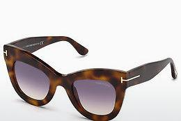 Occhiali da vista Tom Ford FT0612 53Z - Avana, Yellow, Blond, Brown