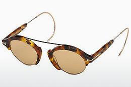 Lunettes de soleil Tom Ford FT0631 55E - Multicolores, Brunes, Havanna