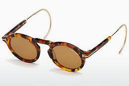 Lunettes de soleil Tom Ford FT0632 55E - Multicolores, Brunes, Havanna