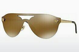 Versace Sonnenbrille » VE2161«, goldfarben, 100287 - gold/grau