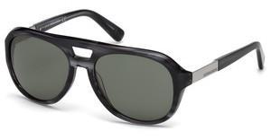 Dsquared2 Herren Sonnenbrille » DQ0257«, schwarz, 01A - schwarz/grau
