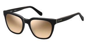 Fossil Damen Sonnenbrille » FOS 2079/S«, braun, 086/GA - braun/braun