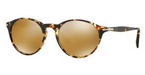 Persol PO3092SM 9040W4 LIGHT BROWN MIRROR GOLDTABACCO VIRGINIA