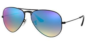 Ray-Ban RB3025 002/4O MIRROR GRADIENT BLUESHINY BLACK