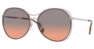 Burberry BE3105 118818 ORANGE GRADIENT LIGHT GREYPINK/BORDEAUX