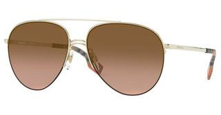 Burberry BE3113 110913 BROWN GRADIENTLIGHT GOLD